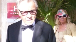 Harvey Keitel as one of tose many celebs